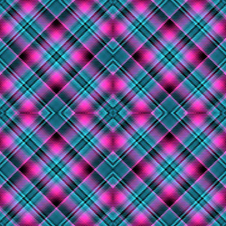 Background tartan, seamless abstract pattern with diagonal lines,  decoration english.