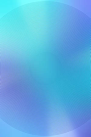 Gradient radial background, blue sky, blur smooth soft texture wallpaper abstract with copy space. Smooth Light Banco de Imagens