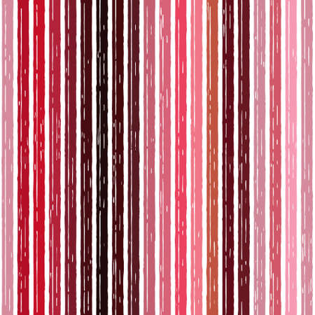 Amaranth red pink seamless strips pattern. Abstract stripe illustration background.  cerise.