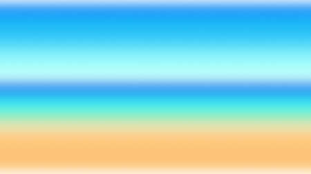 Ocean background horizon abstract blue gradient sky,  illustration surface.