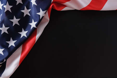 Flaga amerykański usa nas patriota ameryki tło, pomnik.