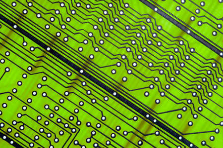 Empty circuit board, pcb printed computer technology, design