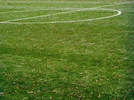 Green soccer field football grass goal game,  court.
