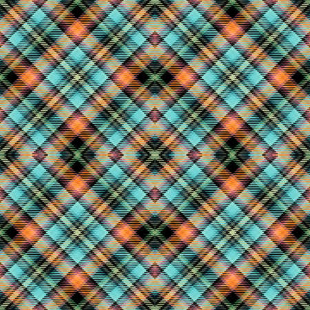 Background tartan, seamless abstract pattern with diagonal lines, irish british.
