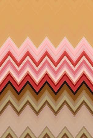 pink pattern background chevron zigzag seamless geometric. texture. Stock Photo - 125503495