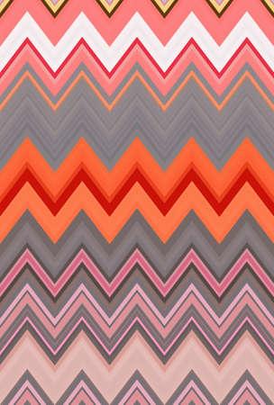 pink pattern background chevron zigzag seamless geometric. art trends. Stock Photo