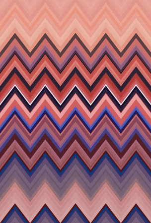 chevron zigzag pattern background abstract art texture. seamless line. Stock Photo