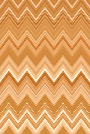 gold zigzag background golden bronze chevron pattern. metal. Stock Photo