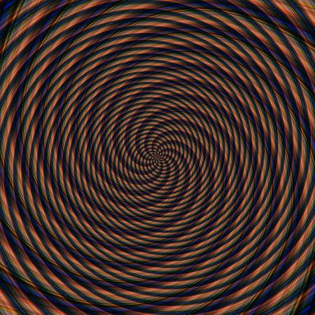 Abstract background illusion hypnotic illustration motion spirals, fancy. 版權商用圖片