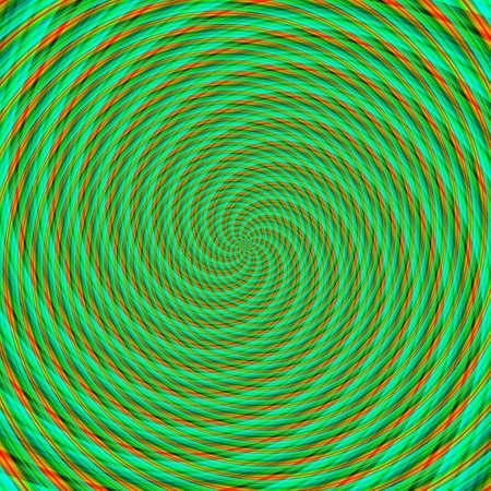 Abstract background illusion hypnotic illustration motion spirals, deceptive deception.