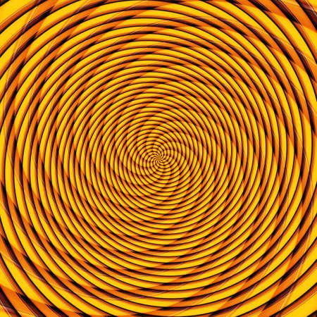 Abstract background illusion hypnotic illustration motion spirals, art decorative.