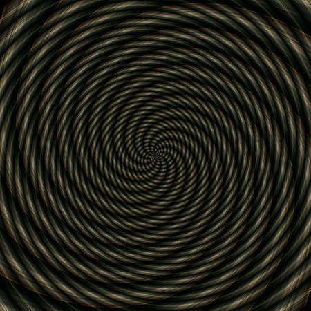 Abstract background illusion hypnotic illustration motion spirals, art decoration.