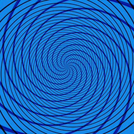 Abstract background illusion hypnotic illustration motion spirals, graphic fancy.