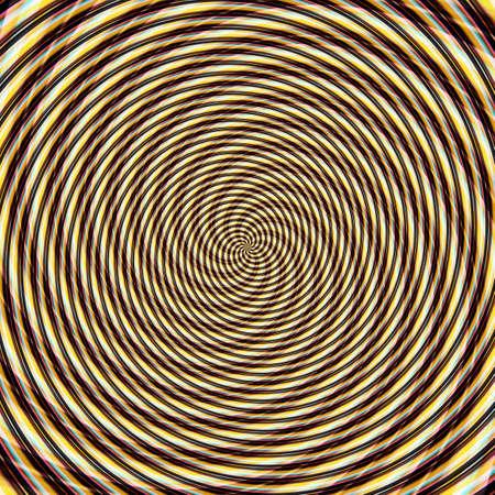 Abstract background illusion hypnotic illustration motion spirals, delusion design.