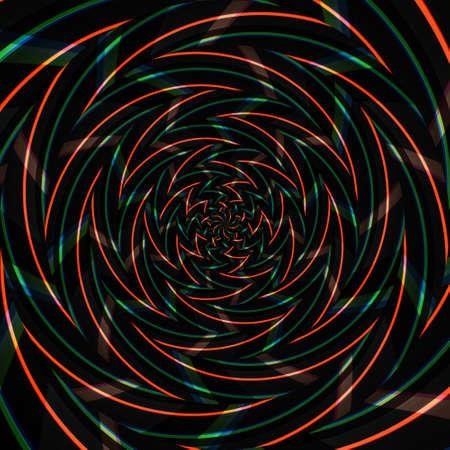 Spiral swirl pattern background abstract vortex design, ornate modern.