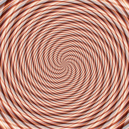Abstract background illusion hypnotic illustration motion spirals, delusion deception.