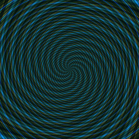 Abstract background illusion hypnotic illustration motion spirals, deceptive attractive.