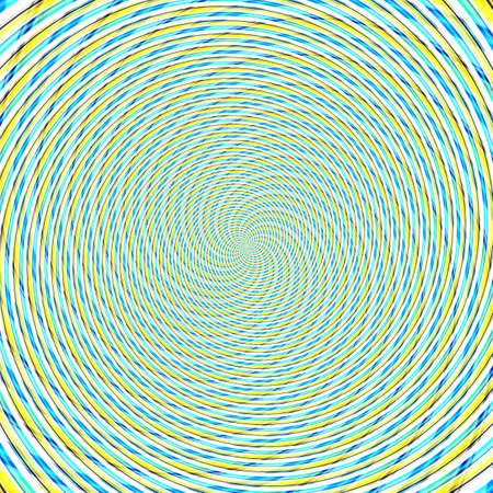 Abstract background illusion hypnotic illustration motion spirals, delusion attractive.
