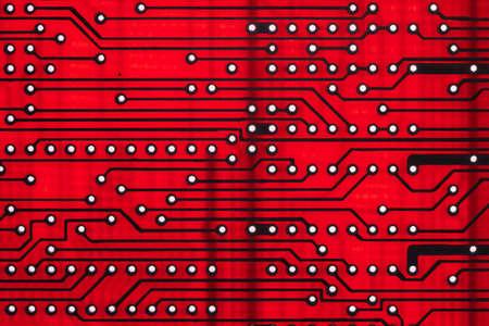 Empty circuit board, pcb printed computer technology,  processor