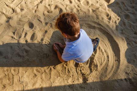 Sand playground child summer fun park childhood, kid.
