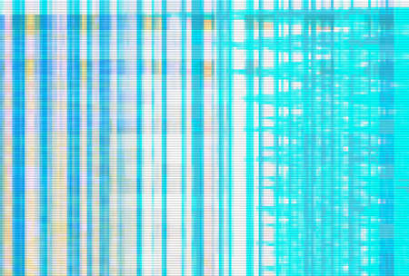 Abstract glitch artifact turquoise technology vhs background, grunge.