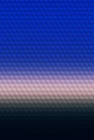 Blue cube geometric pattern abstract background for cover design, illusion.