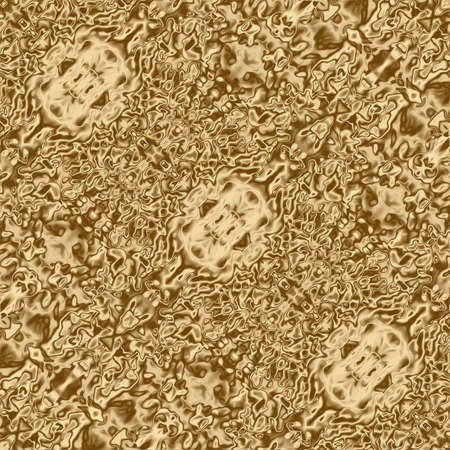 Golden background pattern and abstract gold design texture, liquid.