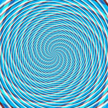 Abstract background illusion hypnotic illustration motion spirals, graphic deceptive.