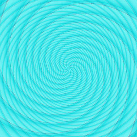 Abstract background illusion hypnotic illustration motion spirals, optical attractive.