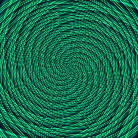 Abstract background illusion hypnotic illustration motion spirals, design graphic. Stock Photo