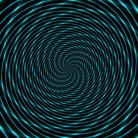Abstract background illusion hypnotic illustration motion spirals, fractal deception. 版權商用圖片