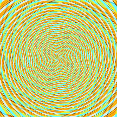 Abstract background illusion hypnotic illustration motion spirals, imagination.