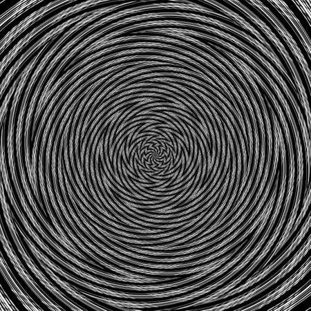 Illusion background spiral pattern zig-zag abstract wallpaper, kaleidoscope texture.