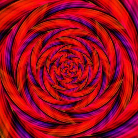 Spiral swirl pattern background abstract vortex design, modern texture. Stock Photo