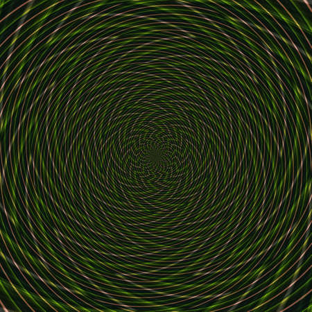 Illusion background spiral pattern zig-zag abstract wallpaper, design surreal. Stock Photo