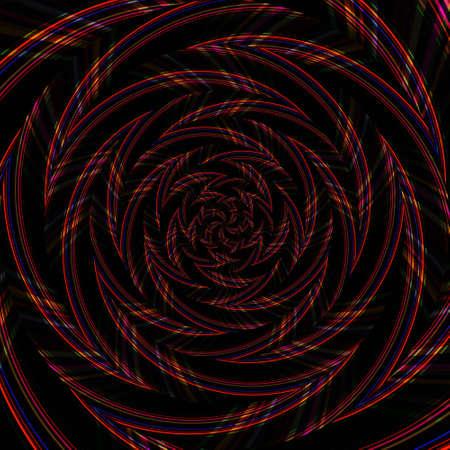 Spiral swirl pattern background abstract vortex design, illusion wallpaper.