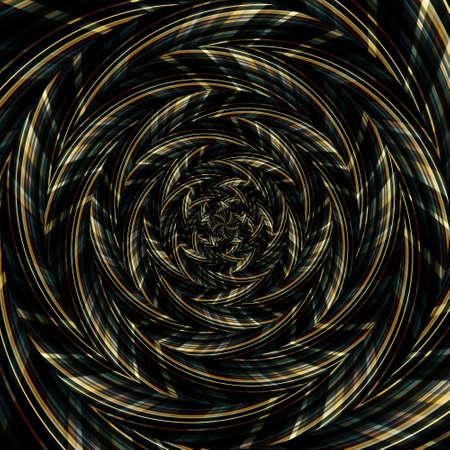 Spiral swirl pattern background abstract vortex design, zigzag.