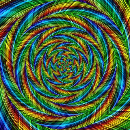 Spiral swirl pattern background abstract vortex design, illustration surreal.