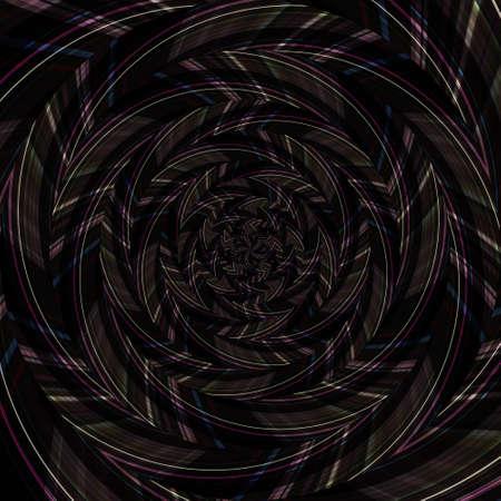 Spiral swirl pattern background abstract vortex design, surreal texture. 版權商用圖片