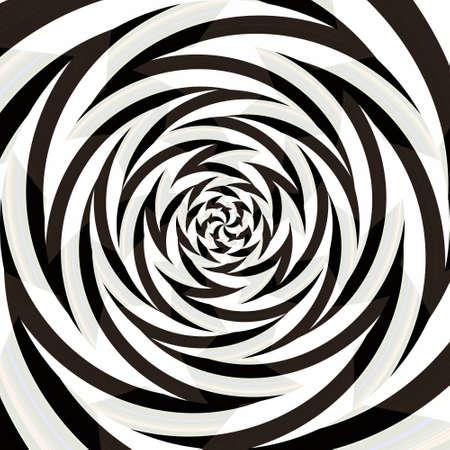 Spiral swirl pattern background abstract vortex design, modern wallpaper. Stock Photo