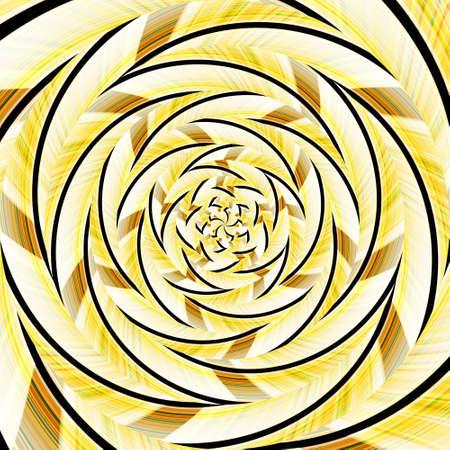 Spiral swirl pattern background abstract vortex design, optical decorative.