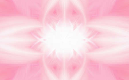 geometric pink pattern background fractal kaleidoscope backdrop. pastel.