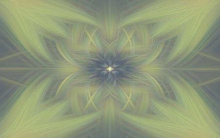 vintage geometric pattern background old fractal kaleidoscope. art.