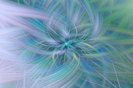 green leaf flower illustration background art fractal. cosmos.