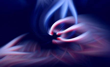 dark flame fractal background prominence art illustration. glow.