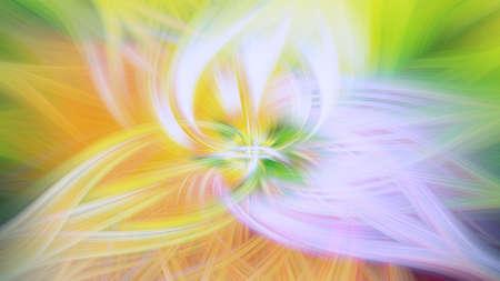 pattern nature floral glow smooth fractal illustration. design energy.