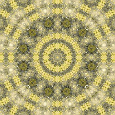 pcb printed circuit board pattern kaleidoscope background. cyberspace.