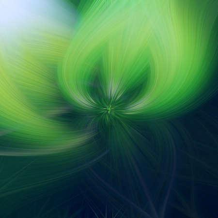 green leaf flower illustration background art fractal. backdrop. Imagens