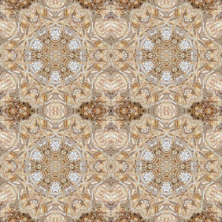 marble texture granite kaleidoscope abstract design background. floor.