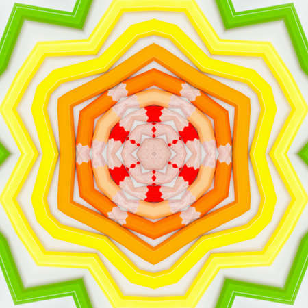 background multicolor abstract kaleidoscope colorful pattern design. texture boohoo. Banque d'images - 131301968